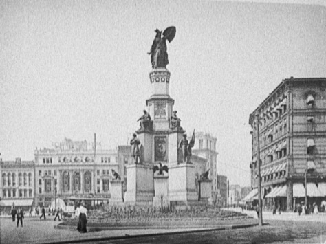 Soldiers & Sailors Monument, c1903