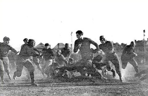 Michigan vs. Stanford - First Rose Bowl Game - 1902