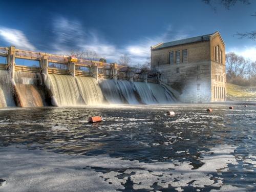 Barton Dam (Photomatix HDR)