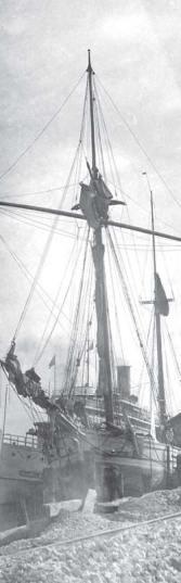 Mabe Bradshaw, the first passenger ship
