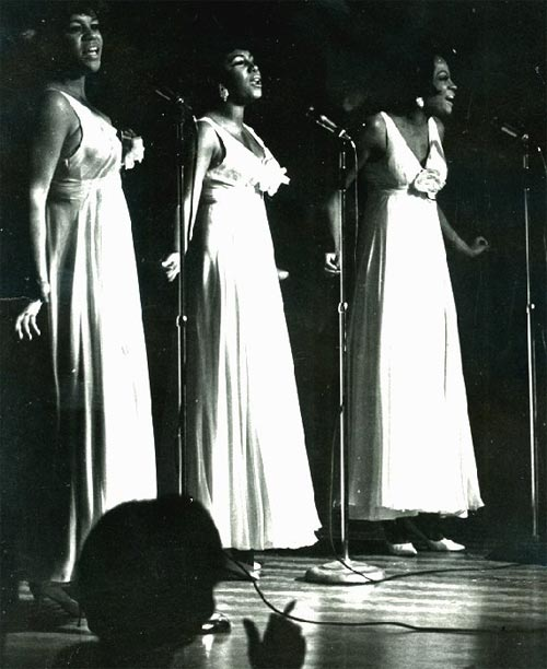 The Supremes at the Roostertail in Detroit