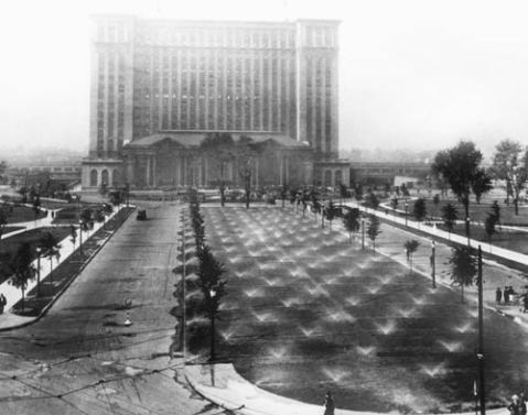 Michigan Central Station, 1921