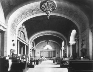 Michigan Central Station waiting room