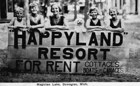 Happyland Resort on Magician Lake (Dowagiac)