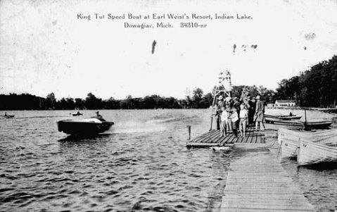 Speedboat 'King Tut' on Indian Lake