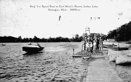 Speedboat 'King Tut' on Indian Lake