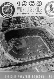 1968 Detroit Tigers / St. Louis Cardinals World Series program cover