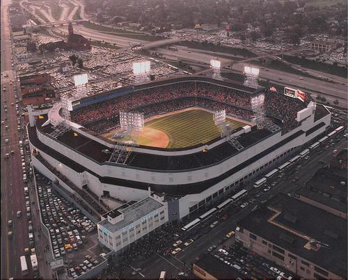 Aerial View of Tiger Stadium