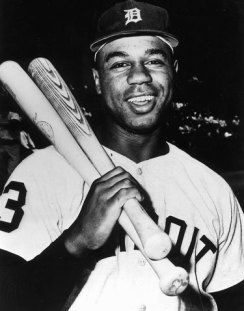 Willie Horton of the Detroit Tigers
