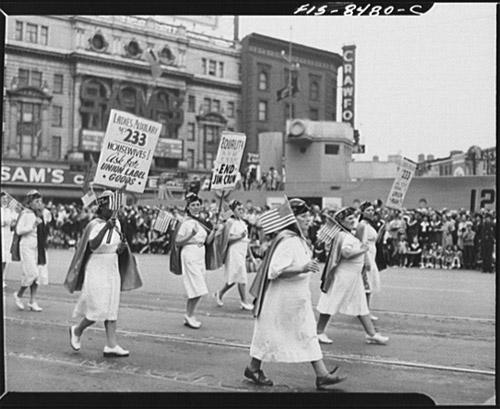 1942 Detroit Labor Day Parade