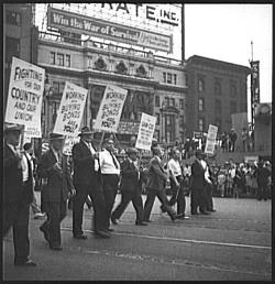 1942 Detroit Labor Day Parade, War of Survival