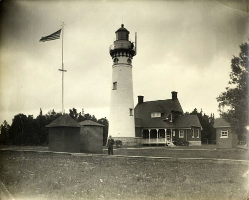 Seul Choix Point Lighthouse; Schoolcraft County
