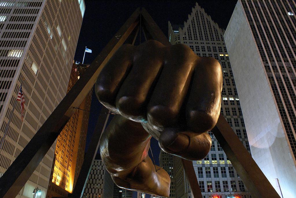Fist Joe Louis