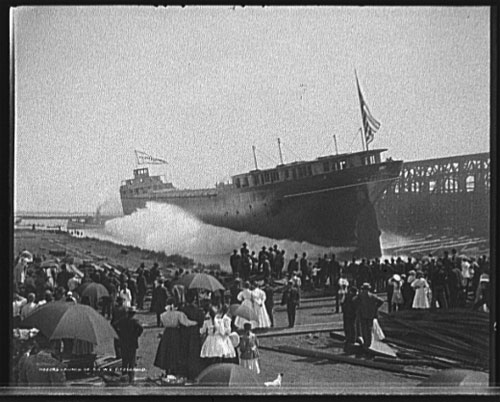 Launch of the W.E. Fitzgerald at Wyandotte