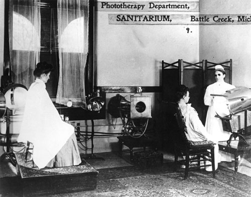Phototherapy Department at the Battle Creek Sanitarium