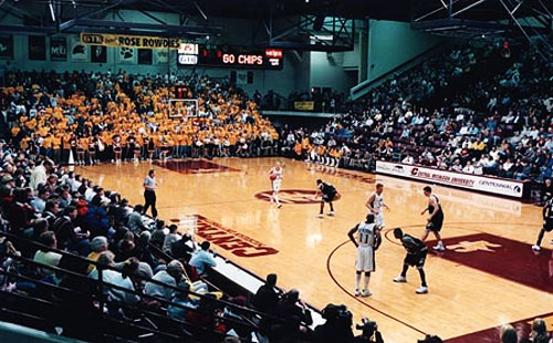 Rose Arena at Central Michigan University