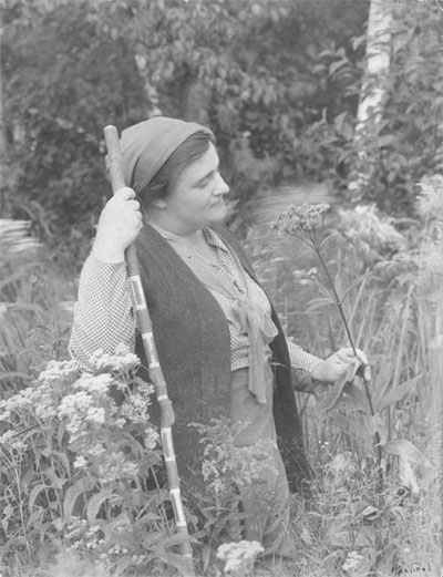 Emma Genevieve Gillette, conservationist, photo courtesy of Michigan Archives