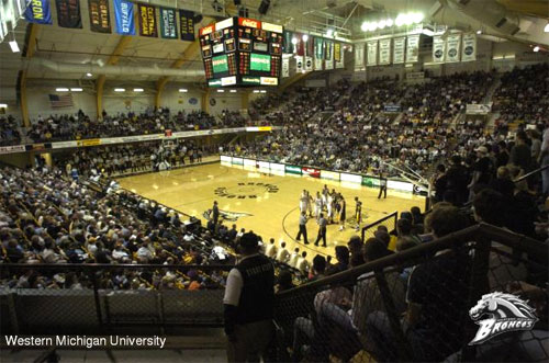 Michigan March Madness University Arena At Western Michigan University Michigan In Pictures