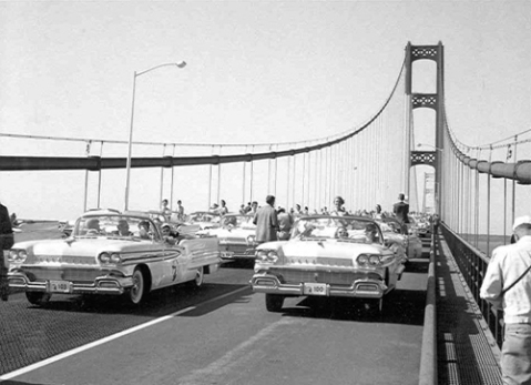 Mackinac Bridge Opening