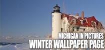 Michigan Winter Wallpaper Page