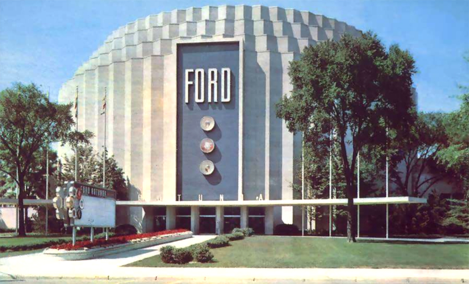 The ford rotunda michigan in pictures for Ford motor company in dearborn michigan