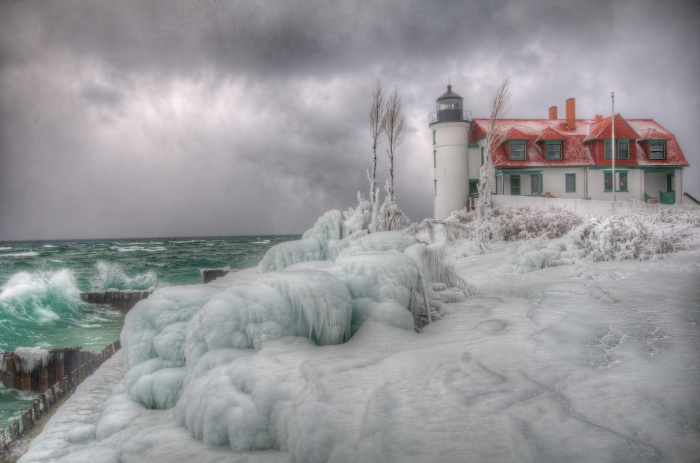 Point Betsie Lighthouse Winter