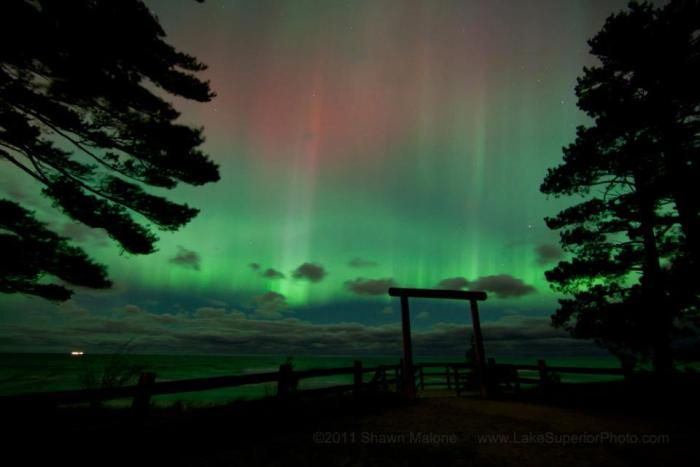 Groovy Northern Lights Of October 24 2011 In Michigan Michigan Pdpeps Interior Chair Design Pdpepsorg