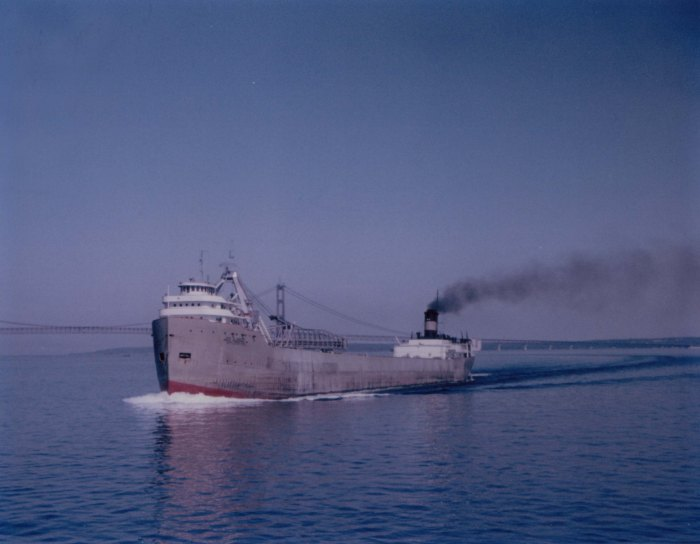 Carl D Bradley on the Great Lakes