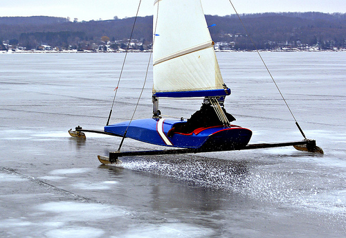 ice boat | Michigan in Pictures
