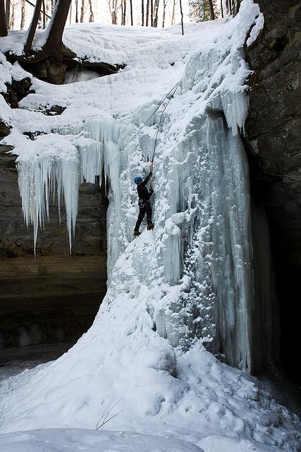 Ice Climbing - Tannery Falls