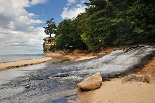 """""""Chapel Beach"""" Pictured Rocks National Lakeshore"""