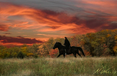Halloween sunset... ©n.wamsley