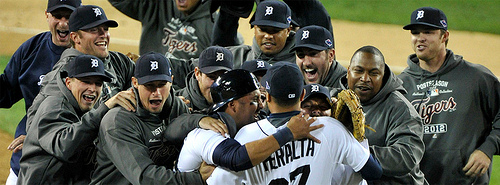 Tigers get ALCS sweep