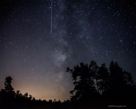 Meteor-Over-Marquette