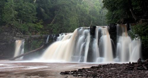 Manabezo Falls.