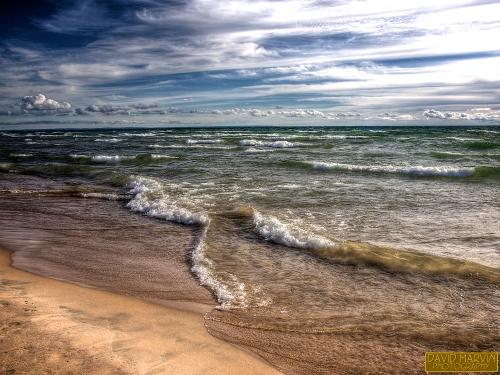 Lake Michigan near Brevort, Michigan