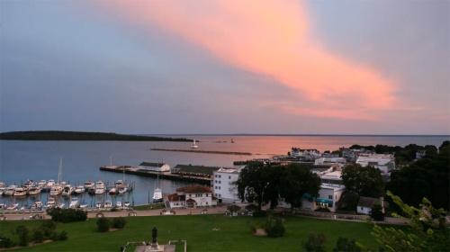 Mackinac-Island-Sunset
