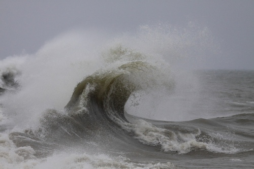 Massive Wave at Port Sanilac