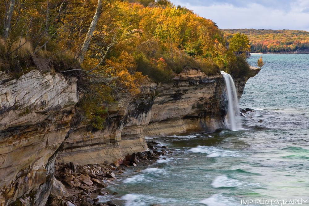Spray Falls Autumn Colors