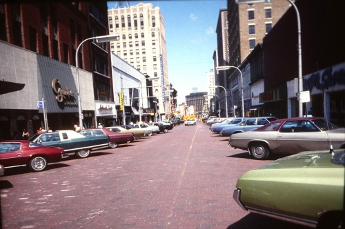 Downtown shopping 1978