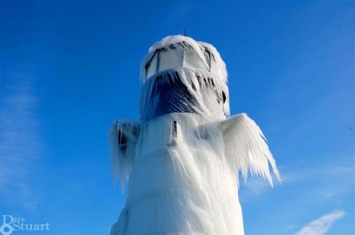lighthouse snowman