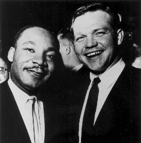 John Swainson and Martin Luther King