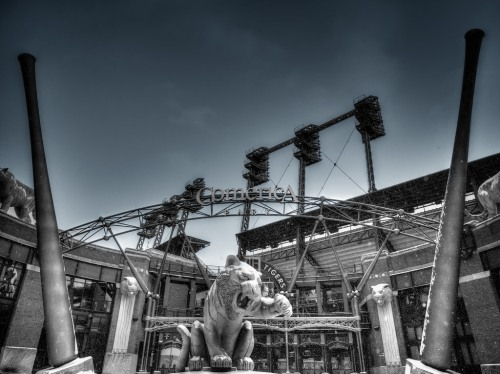 Comerica Park Winter - Detroit, MI