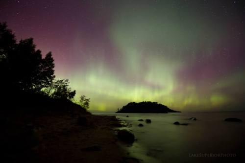 October Auroras by Shawn Malone