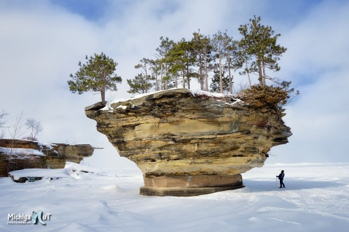 """Turnip Rock"" Pointe Aux Barques, Lake Huron"