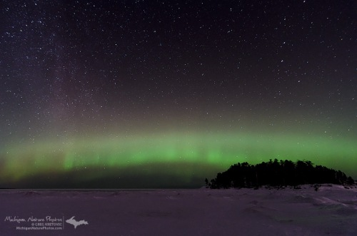 Frigid Auroras Over Superior