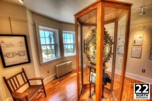 Point Betsie Lighthouse original Fresnel lens