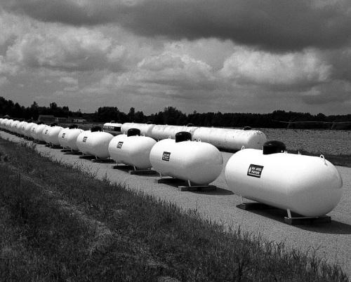 Hesperia Propane Tanks by John Mickevich