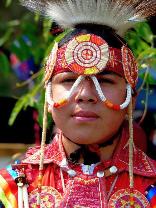 Odawa Indian Boy