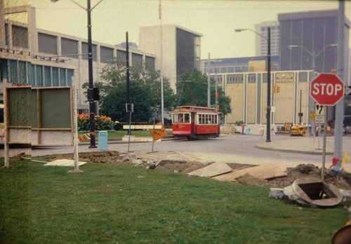 Detroit trolley 1980